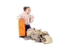 fille scout photo libre de droits