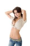 Fille sensuelle Image stock