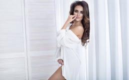 Fille sensuelle romantique Image stock
