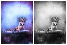 Fille sexy avec sa lingerie Photographie stock libre de droits