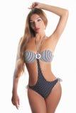 Fille sexy dans le bikini Photographie stock