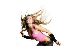 Fille sexy de danseur image stock