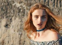 Fille sexy de mode Photographie stock