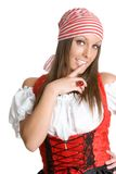 Fille sexy de pirate photos libres de droits