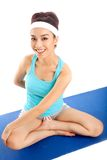 Fille sportive Images stock