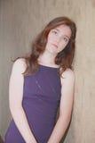 Fille tenue  Photo stock