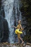 Fille thaïe Photographie stock libre de droits