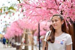 Fille thaïlandaise de portrait Photographie stock