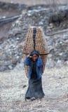 Fille tibétaine Photo libre de droits