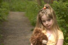 Fille timide Photographie stock libre de droits