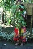 Fille tribale de village du Vanuatu photos libres de droits