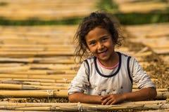 Fille turque de sourire photos libres de droits