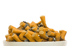 Free Filled Ashtray Stock Photography - 13530122