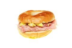Filled bagel Royalty Free Stock Image