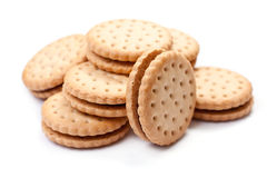 Filled Biscuits Royalty Free Stock Image