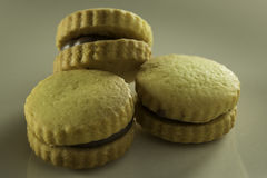 Filled biscuits Stock Photography