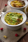 Filled cabbage in bowl Stock Images