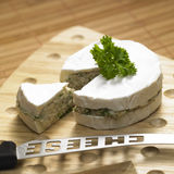 Filled cheese Royalty Free Stock Photo