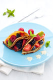 Filled crepe Royalty Free Stock Images