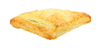 Filled Danish Turnover Front View Royalty Free Stock Photography