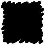 Filled felt pen black background. Vector Filled felt pen black background Royalty Free Stock Photo