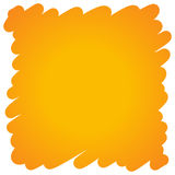 Filled felt pen orange background. Vector Filled felt pen orange background Royalty Free Stock Photography