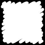 Filled felt pen white background. Vector Filled felt pen white background Royalty Free Stock Image