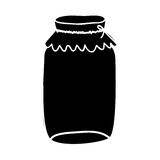 Filled jar icon image. Vector illustration design Stock Photography