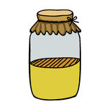 Filled jar icon image. Vector illustration design Royalty Free Stock Image