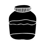 Filled jar icon image. Vector illustration design Stock Photo