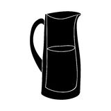 Filled jug icon image. Vector illustration design Royalty Free Stock Photography