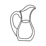 Filled jug icon image. Vector illustration design Stock Image