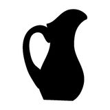 Filled jug icon image. Vector illustration design Royalty Free Stock Images