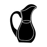 Filled jug icon image. Vector illustration design Stock Photos