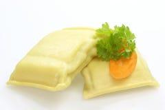 Filled Pasta Stock Photos