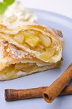 Filled puff pastry Stock Photography