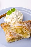 Filled puff pastry Royalty Free Stock Images