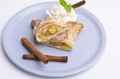 Filled puff pastry Stock Photos