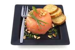 Filled salmon Royalty Free Stock Images