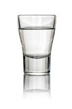 Filled Shot Glass Royalty Free Stock Images