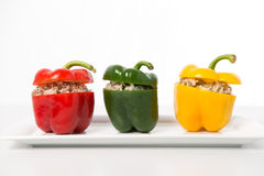 Filled sweet pepper Stock Photography