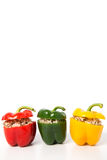 Filled sweet pepper Royalty Free Stock Image