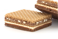 Free Filled Wafer With Chocolate Royalty Free Stock Photo - 12166485