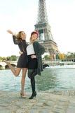 Filles à Paris Photographie stock libre de droits