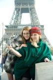 Filles à Paris Photos stock