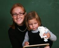 Filles d'école Photographie stock libre de droits
