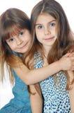 Filles d'amis Image stock