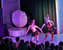 Filles dans des costumes de danse photographie stock libre de droits