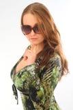 Filles dans des lunettes de soleil Photographie stock