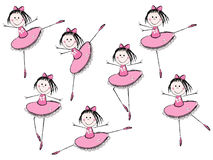 Filles de ballet Photos stock